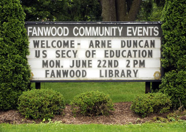 Fanwood welcomes the secretary