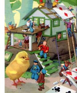 Teenie Weenies Build a House